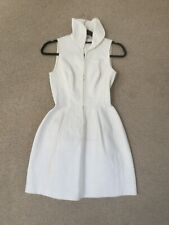 Alaia White Structured Dress Fr38