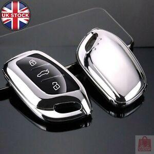 TPU Car Remote Smart Key Cover Case Holder Shell For MG ZS EV MG6 EZS HS EHS 201