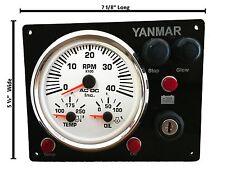 B type Yanmar diesel engine Panel Replacement with Multi-Gauge