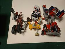 optimus prime and other transformer toy Lot.