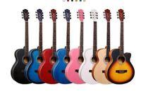 New Professional Acoustic Callaway Folk 40 inch  Guitar STAGE ESSENTIALS