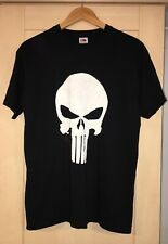 Noir Punisher Logo Marvel T Shirt Unisexe Moyen Nouveau