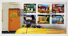 NEW ZEALAND - Scott 1828-1833 - 2002 Holiday Hideaways FDC