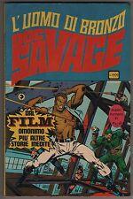 super fumetti in film n.1 l'uomo di bronzo DOC SAVAGE corno 1976 superfumetti tv