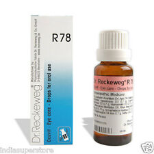Dr Reckeweg Germany R78 Eye Care Drops for Drinking Homeopathic Medicine