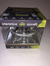 360 Interactive UFO Aircraft Flying Toy Silver Color Ages 5+ New in Box Zomper