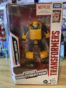 Transformers War For Cybertron Netflix Bumblebee NIB Express Shipping