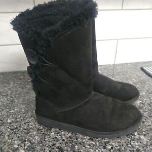 So Junebug Black 7-1/2 M Boots Great Used Condition