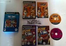 THE SIMS COLLECTION for PLAYSTATION 2 - SIMS BUSTIN OUT & SIMS IN THE CITY RARE