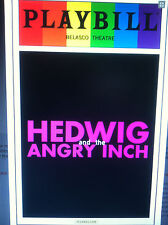 Hedwig and the Angry Inch playbill Darren Criss  gay pride version 2015