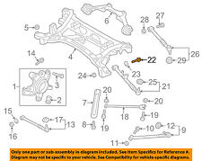 MAZDA OEM 04-11 RX-8 Front Suspension-Lower Control Arm Adjust Bolt F1512866Z