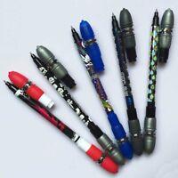 Neue Anti Rutsch Coated Spinning Pen Champion Rollen Kugelschreiber Finger