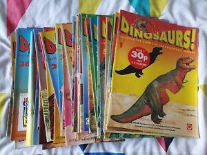 Dinosaurs! Magazine Bundle, 49 Magazines