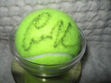 ANNA KOURNIKOVA  AUTOGRAPHED TENNIS BALL WITH ACRYLIC BALL HOLDER-TENNIS AUTO