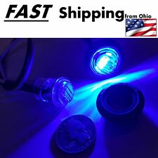Blue Side Marker 2 pack - diamond eye 12vDC bullz eye blue - premium quality LED