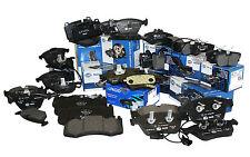 BMW E70 FRONT BRAKE PADS (4) + SENSOR X5 X6, OEM PAGID 34356792567 + 34116852253