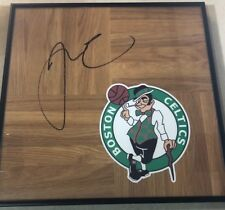 Boston Celtics JAYSON TATUM Signed Framed Floorboard 12x12