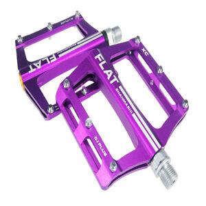SHANMASHI 0.1plus Aluminium Mountain Bike Pedals 9/16'' MTB Cycling Flat Pedals