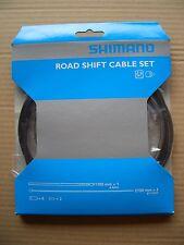 Shimano Schaltzug Set Rennrad / Race Stahl SIS-SP40, schwarz, NEU