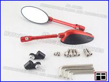 Honda CBR1000RR 2004-07 CNC red bare mirrors machined alloy multi adjustable 01