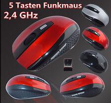 2.4 GHz Funkmaus USB Wireless Optische Computermaus Notebook Computer Maus Mouse