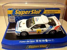 SUPERSLOT S3326 FORD RS 200  Nuevo  1/32 New