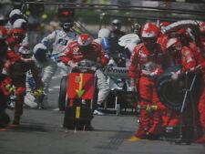 Poster Marlboro Ferrari F1 Team Pit Crew 2003