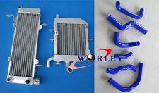 For HONDA RVF400 NC35 or NC30 VFR400 Alloy Radiators + silicone hose
