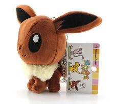 "Pokemon Go Plus Pokemon Center Pokedoll 5"" Eevee Stuffed Plush Doll Strap"