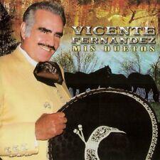 Vicente Fernandez Con Todo Mi Corazon Mis Duetos Angelica Maria,Javier Solis CD