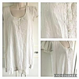 THE WHITE COMPANY - cotton night dress/nightie - Size XS 6/8
