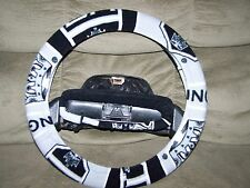LOS ANGELES KINGS FLEECE STEERING WHEEL COVER SET