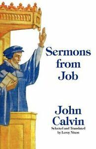 Sermons from Job by John Calvin: New