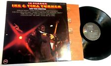 In Person by Ike & Tina Turner And The Ikettes LP soul funk EX