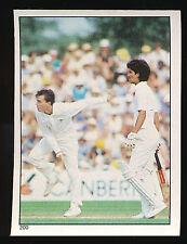 1984 Scanlens Cricket Sticker unused number 200 Greg Matthews