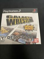 Galactic Wrestling Demo Disc - PlayStation 2 PS2 [RARE NFRS] SEALED!!