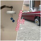 Redcat Sixty four Impala Jevries Rc Lowrider rearview mirror W/Hanging Blue Dice