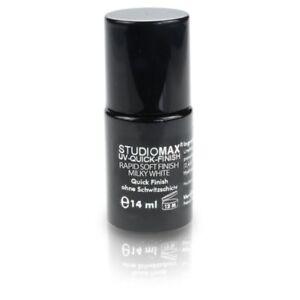 STUDIOMAX Rapid Soft Finish Milky White- UV Quick Finish milchig weiss ohne Schw