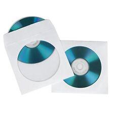 1x100 Hama pochette Cd-rom Papier Blanc 62672