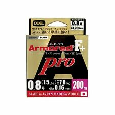 Duel PE line Armored F + Pro 200m 0.8: silver H4086-S