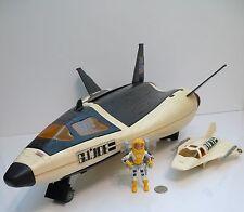 Vintage GI JOE CRUSADER SPACE SHUTTLE w/ Payload Figure Vehicle 1989 !!!