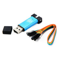 Downloader de emulador de USB Mini de aluminio STM8 STM32 STLink ST-Link V2 M2K9