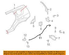 MITSUBISHI OEM 07-13 Outlander Fuel Door Gas Cap Hatch-Release Cable 5943A002
