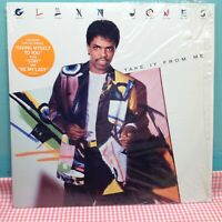 "GLENN JONES - TAKE IT FROM ME - RCA 12"" LP Vinyl Record (1986)"