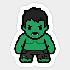 Hulk Thor Angry Vinyl Decal Macbook Laptop Window Glass Cartoon Sticker