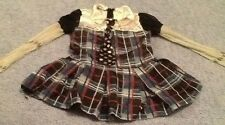 Monster High Plaid Rocker Chick Dressup Halloween Girls Small