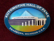 BRAND NEW IN PACKAGE Refrigerator Magnet Automotive Hall Of Fame Dearbon MI Cars