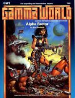 ALPHA FACTOR GW6 VF/NM! GAMMA WORLD DUNGEONS & DRAGONS TSR 7509 D&D