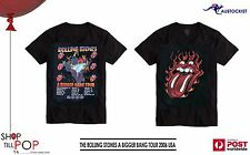 The Rolling Stones A Bigger Bang World Tour 2006 US UNISEX Mens XL T shirt BNWOT
