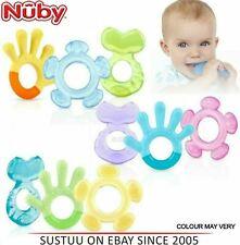 NUBY 3 étape dentition Set apaisant bébé dentition gel enfant jouet +3 mois pack...